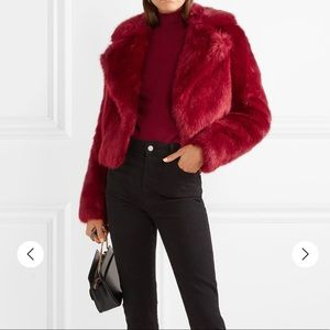 Jackets & Blazers - Michael Kors Cropped Faux Fur Jacket Marion Women'